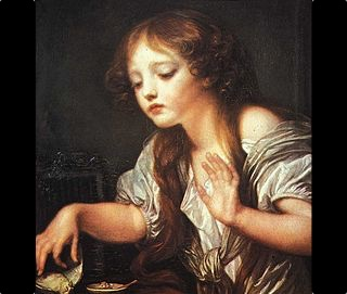 Greuze-_Young_Girl_Weeping_for_her_Dead_Bird-1759_wider